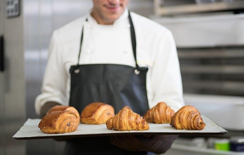 Photographie culinaire des croissants par Nozimages