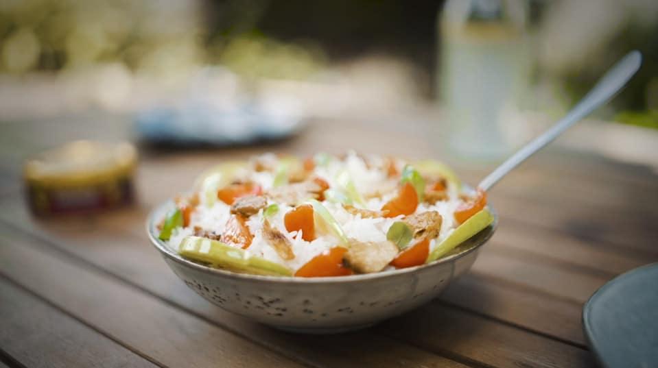 Recette de la Salade de thon la belle-iloise